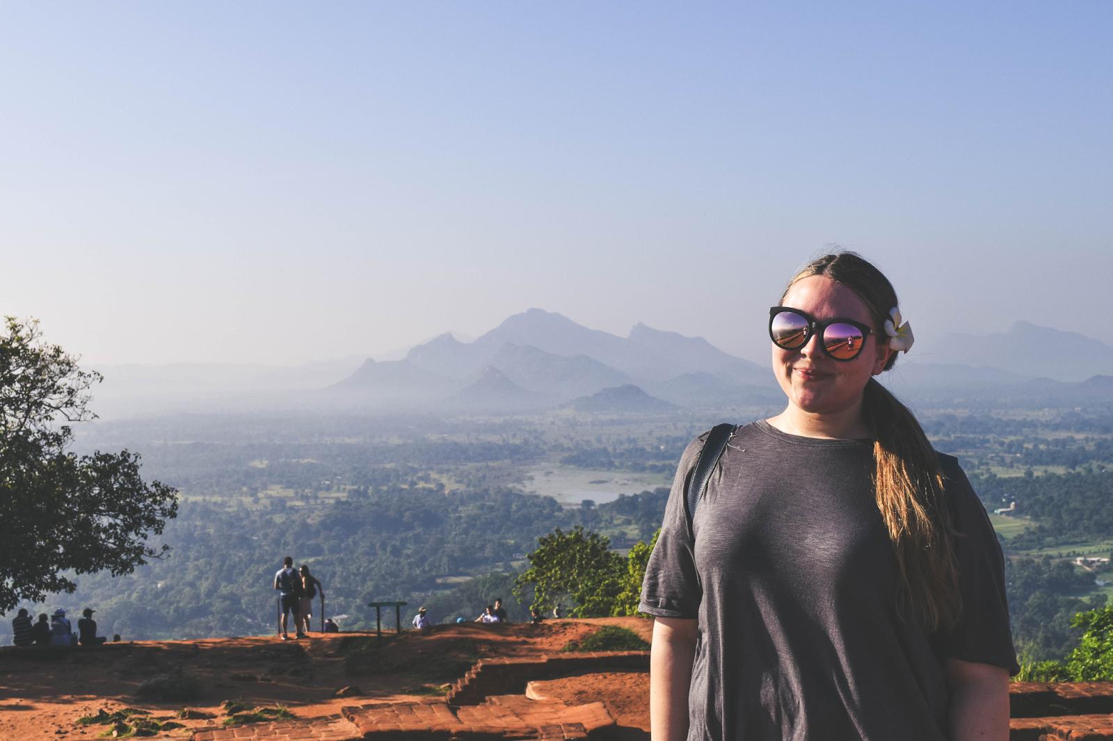 Sri Lanka on Top of Sigiriya