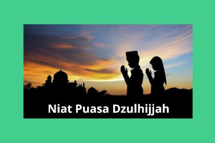 Niat Puasa Dzulhijjah 10 Hari Pertama Sebelum Idul Adha 2019