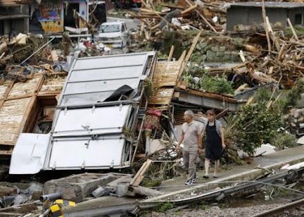 Ιαπωνία: Δεκάδες οι νεκροί από τις καταρρακτώδεις βροχές