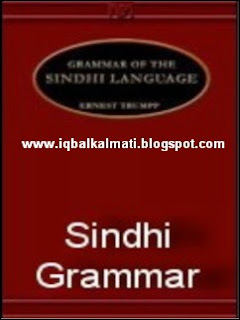 Sindhi Easy Grammar Learning and Teaching book