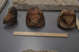 Ancient Egyptian canopic jar lids seized by Homeland Security