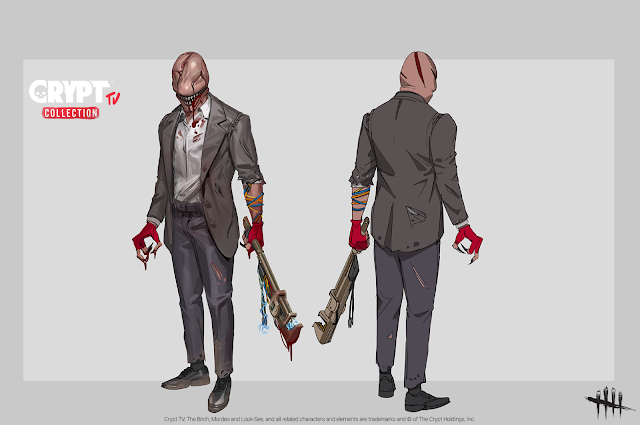 Dead by Daylight Crypt TV Collection The Doctor as The Look-See