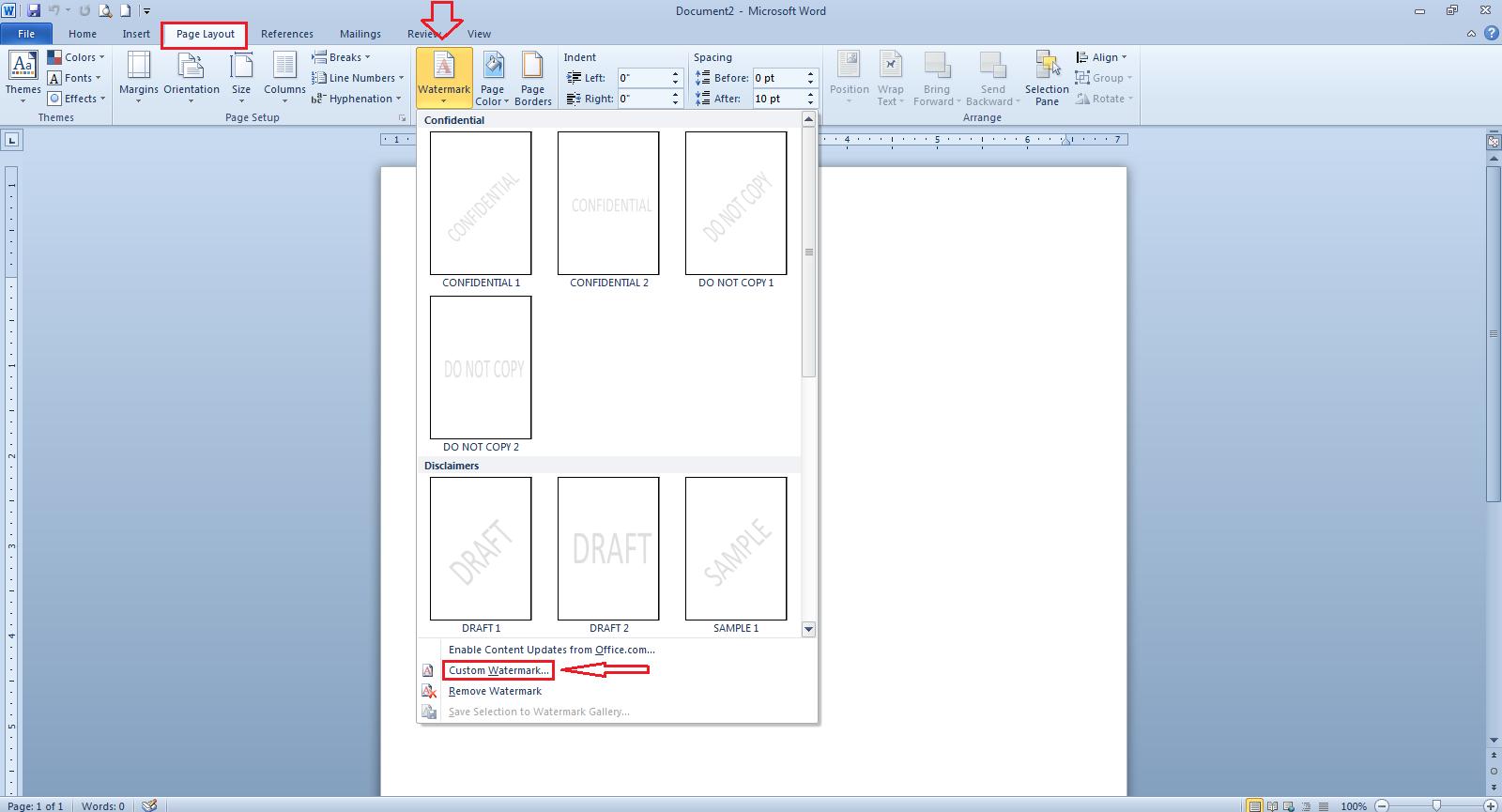 Cara Membuat Background Gambar Transparan Di Word Cari2 Cara