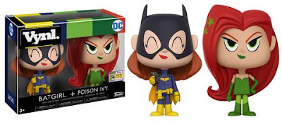 San Diego Comic-Con 2017 Exclusive Batgirl & Poison Ivy DC Comics Vynl 2 Pack by Funko