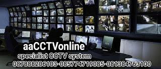 2JT PASANG CCTV GAMBIR-JAKARTA PUSAT