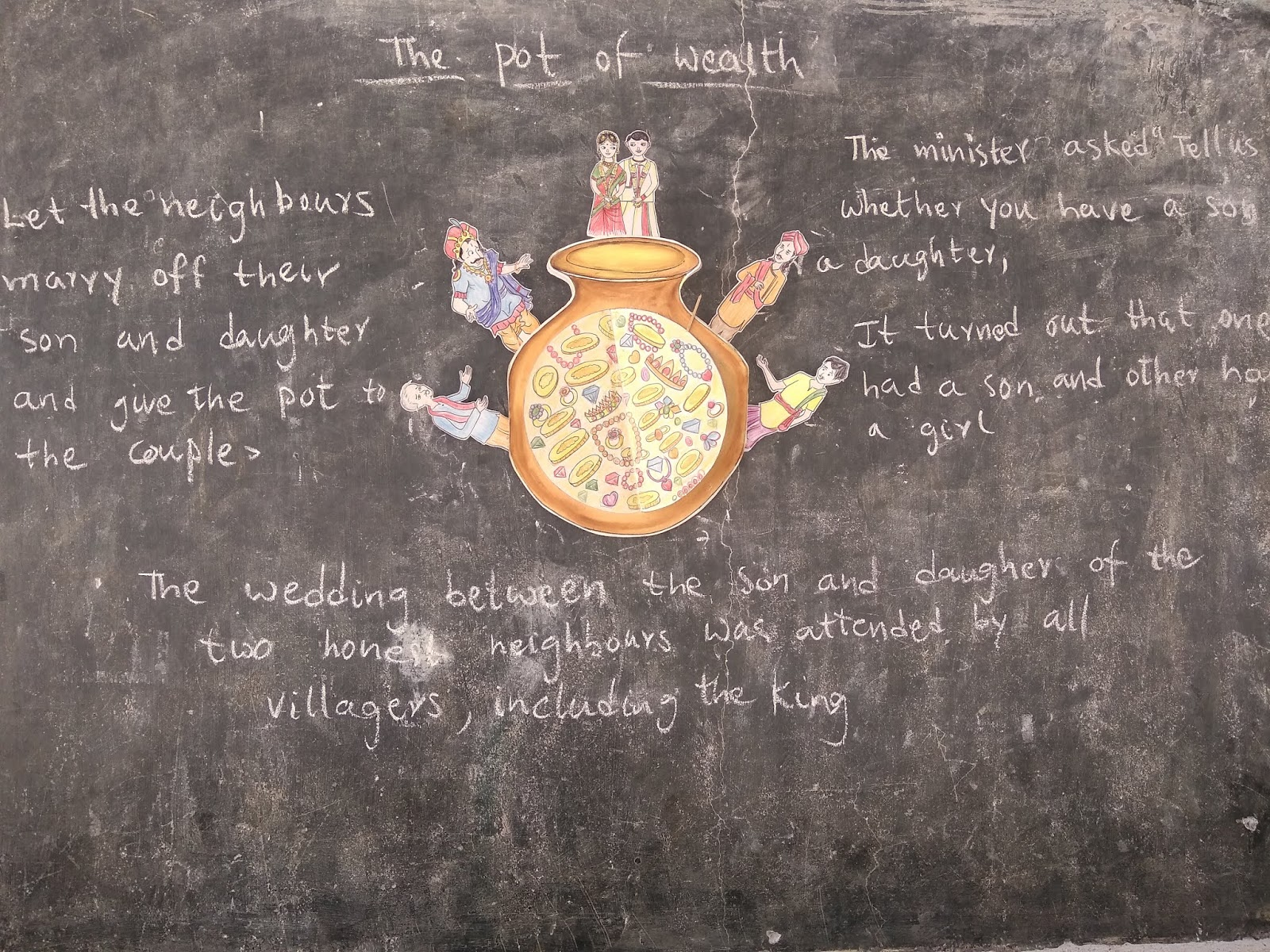 The Pot of Wealth- An Innovative Learner Centered Story Transaction