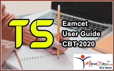 TS Eamcet User Guide CBT