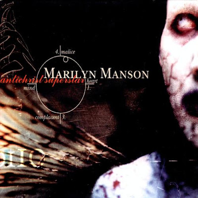 Antichrist Superstar, marilyn manson, blog mortalha, álbum, 1996, antichrist, anticristo