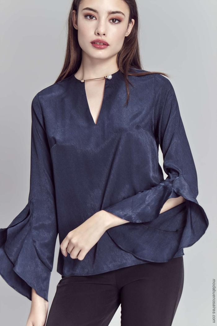 Blusas otoño invierno 2019. Moda otoño invierno 2019 ropa de mujer.