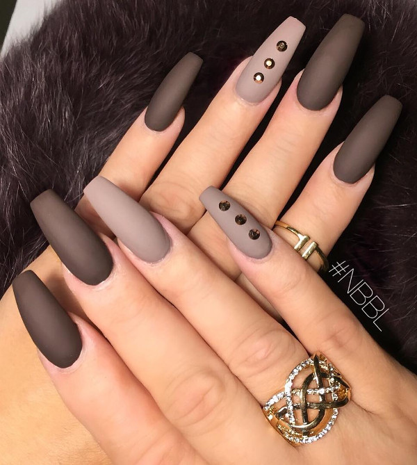all shades of nudes - matte design