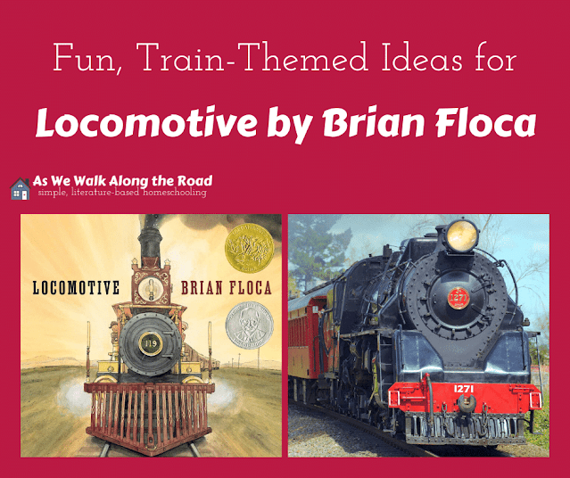 Train-themed books and activities