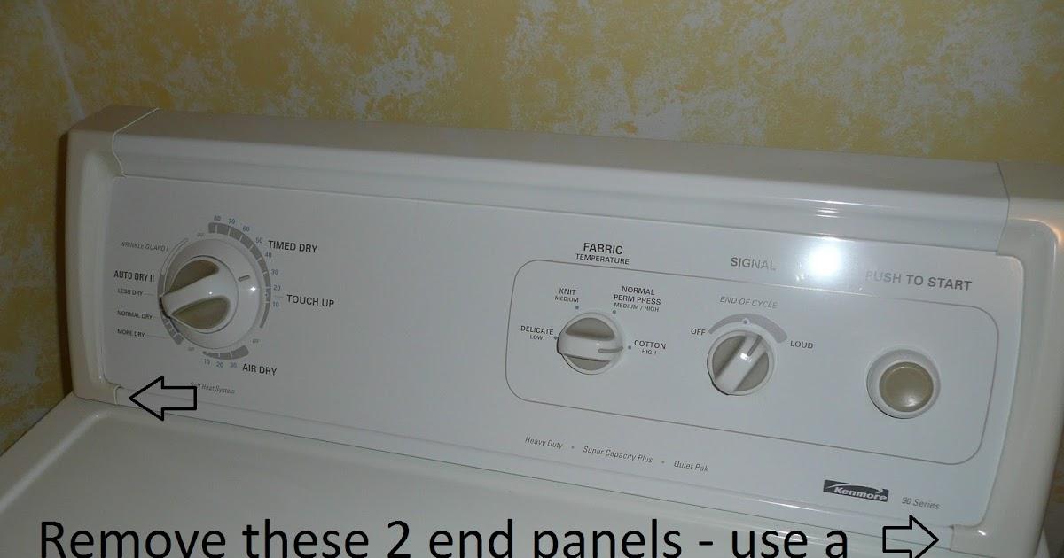 Do It Yourself 90 Series Kenmore Dryer Model 110