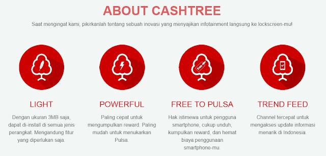 kelebihan cashtree daripada aplikasi sejenis