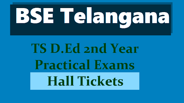 ts d.el.ed 2nd year practical halltickets 2018, ts d.ed 2nd year practical exams hall tickets, d.ed ii year practical final lessons hall tickets 2018, d.ed second year final lessons practical hall tickets, telangana ded 2nd year practical exams hall tickets, bse telangana d.ed ii year practical exams hall tickets