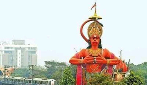 Huge Hanuman will be airlifted!