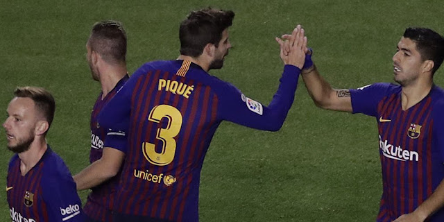Hasil Pertandingan Rayo Vallecano vs Barcelona: 2-3