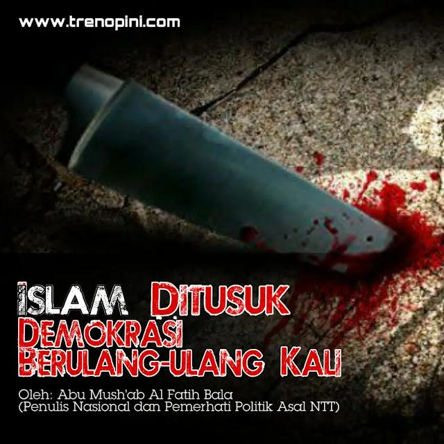 Penikaman terhadap Ulama hanif terjadi lagi. Syekh Ali Jaber ditikam di Kota Bandar Lampung, Ahad sore (13/9/2020) oleh seorang penikam nekat.