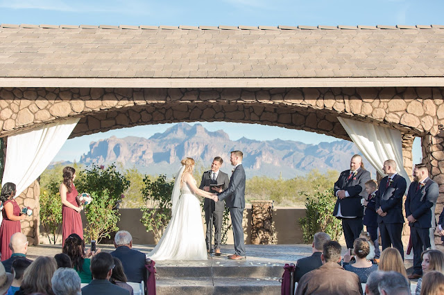 Superstition Manor Weddings Ceremony by Micah Carling Photography