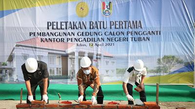 PN Tuban Bangun Gedung Peradilan Modern