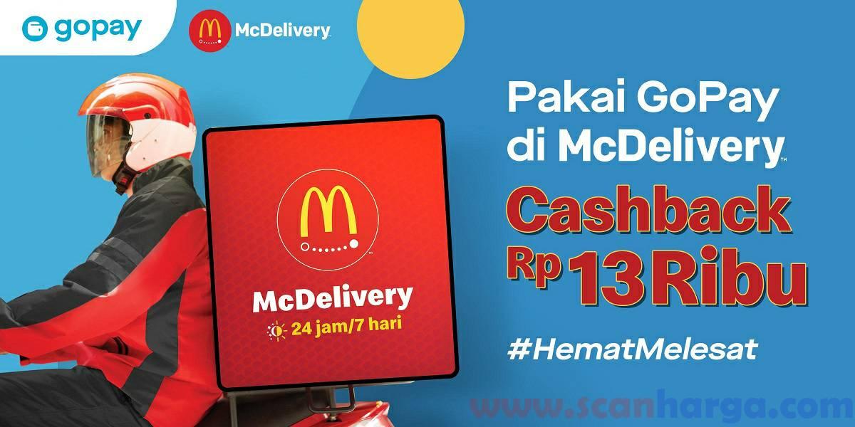 Promo McDonalds Gopay Terbaru Juni 2020