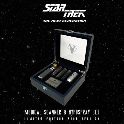 Factory Entertainment's Star Trek Medical Scanner and Hypospray 1