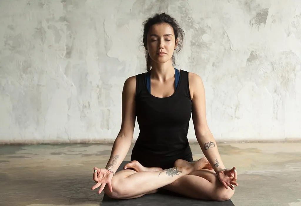 Kapalbhati Pranayama Yoga Pose