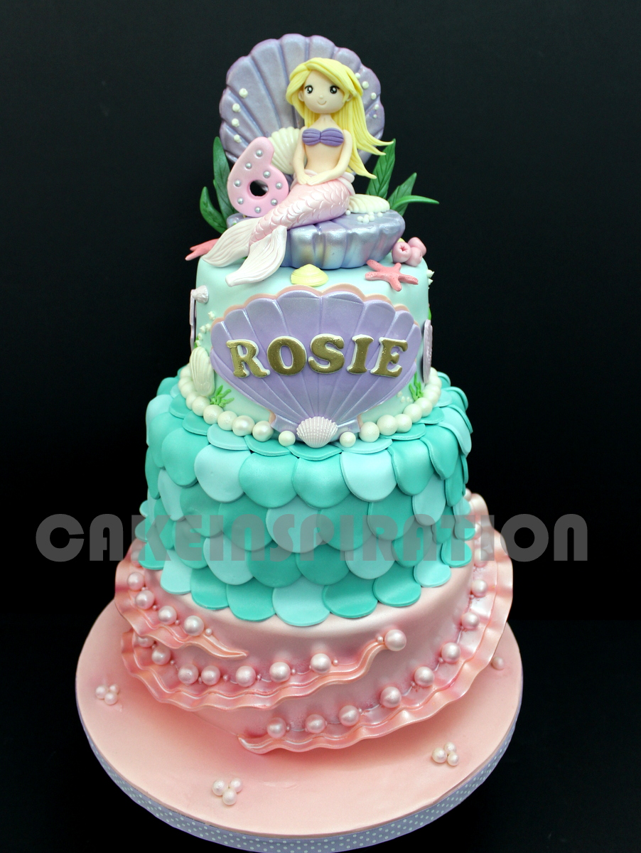 The Sensational Cakes Underwater Mermaid Princess Cake