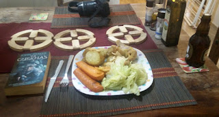 My Chicken roast dinner