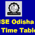 CHSE Odisha Time Table 2020 Download here