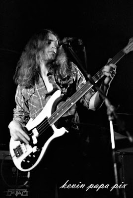Impact on stage at Zaffy's rock club in Piscataway, New Jersey October 8, 1980
