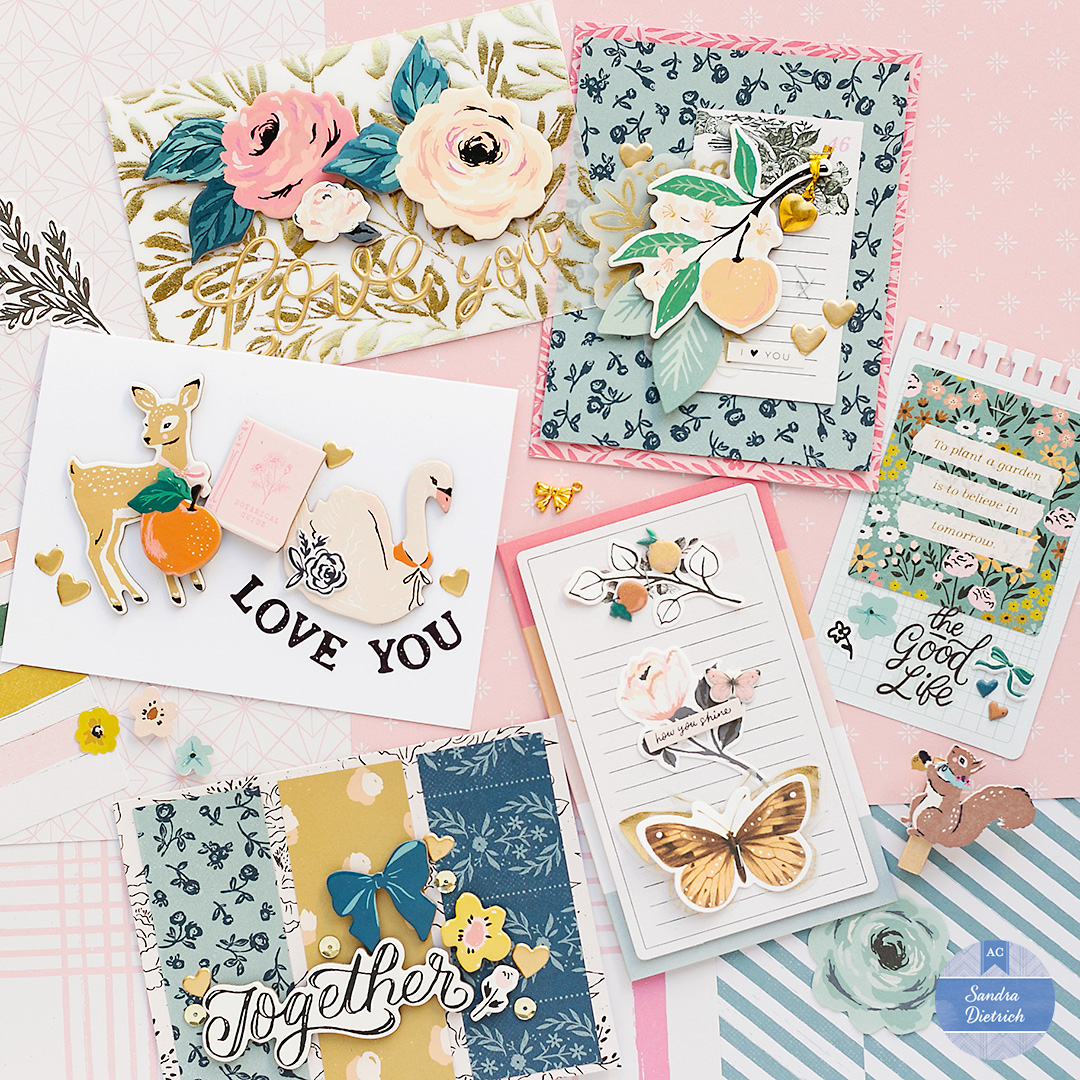 Valentine's Day Cards with Marigold by Crate Paper