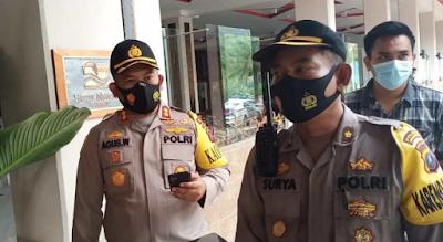400 Personil Polres Simalungun Disiagakan Pengamanan Kunker Kemlu Tiongkok di Parapat