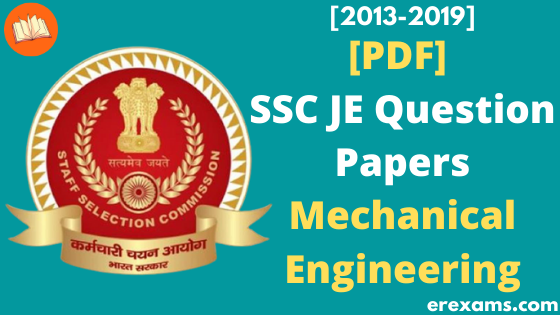 SSC JE Mechanical Previous Year Question Papers Pdf  - ErExams - Engineering Exams Guidance RSS Feed  IMAGES, GIF, ANIMATED GIF, WALLPAPER, STICKER FOR WHATSAPP & FACEBOOK
