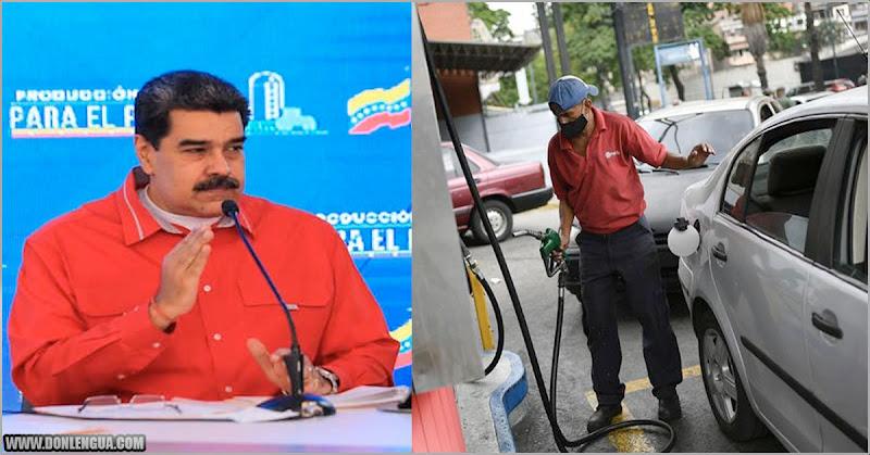 La Gasolina no alcanza | Maduro anuncia Pico y Placa para racionar la Gasolina