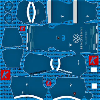 Reggina GK Home Kits Dream League Soccer 2021