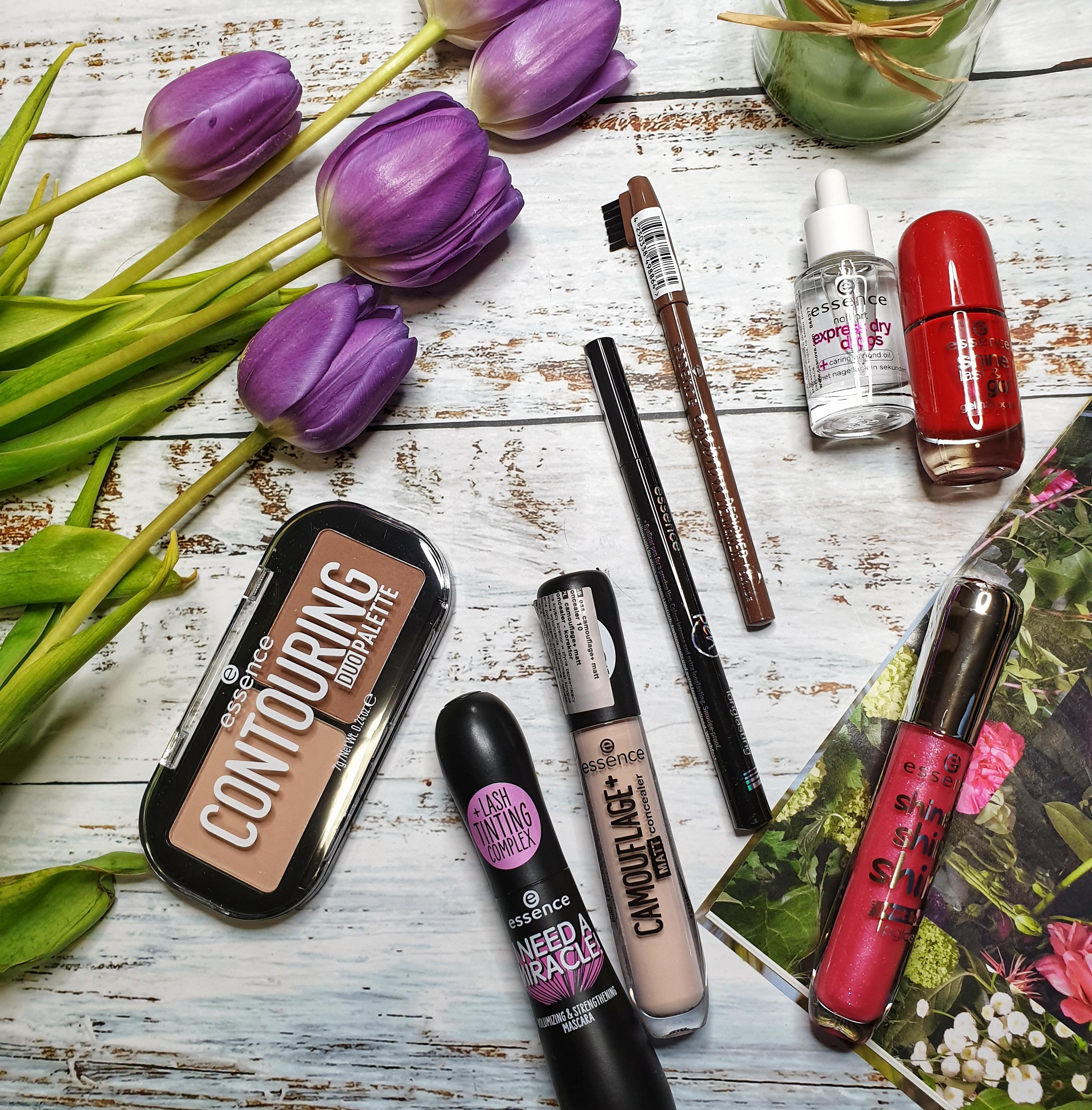 Makijaż z użyciem kosmetyków marki Essence