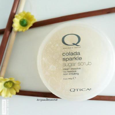 Qtica: Colada Sparkle Sugar Scrub