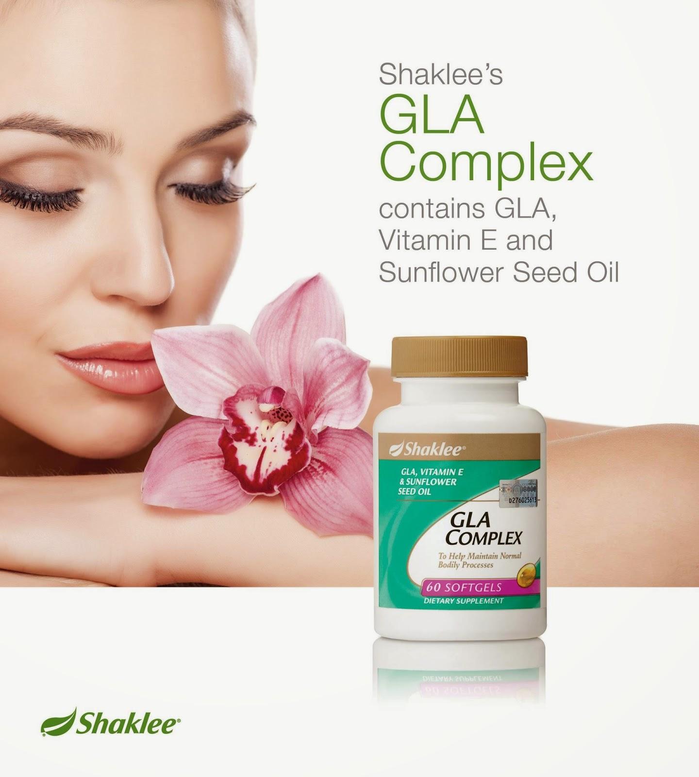 Kandungan GLA Complex shaklee