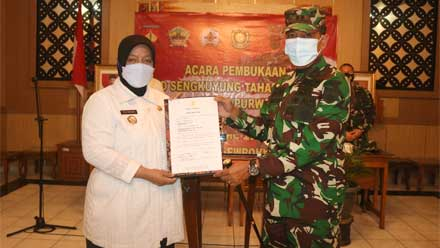 Wakil Bupati Purworejo Buka TMMD Sengkuyung Tahap III 2021