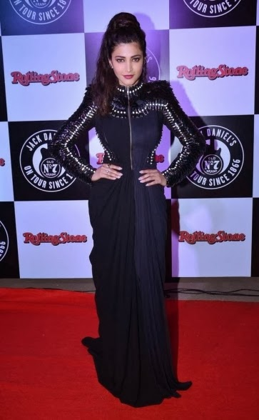 Farhan & Shruti Hassan at Jack Daniels Rock Awards 2014