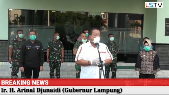 Gubernur Terima 2000 APD Untuk Tenaga Medis di Provinsi Lampung