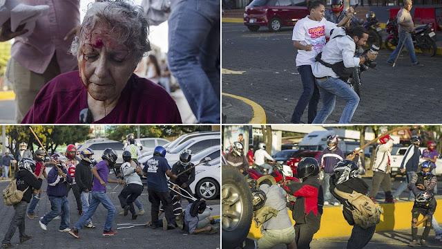 El líder de Nuevas Ideas, Nayib Bukele, condenó los actos represivos en Nicaragua