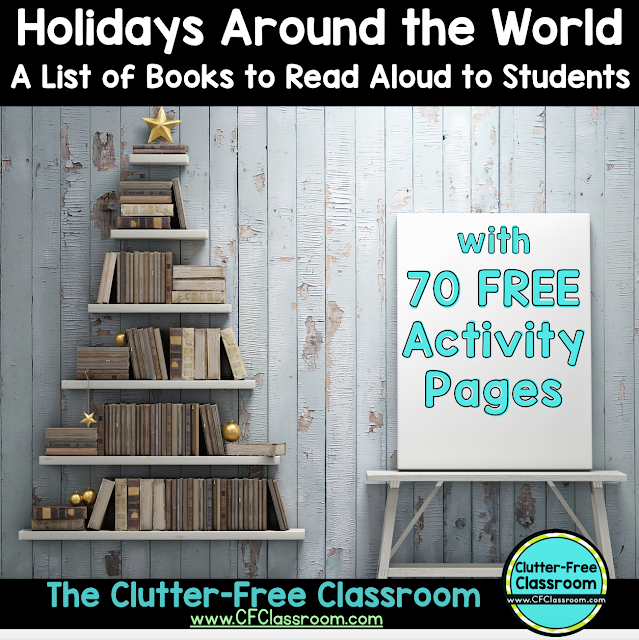This comprehensive list of Holidays Around the World Books for Kids will help you plan your Holidays Around the World unit. The books all focus on different holidays, countries and cultures.