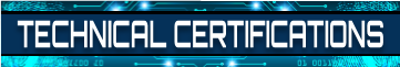 Technical Certifications