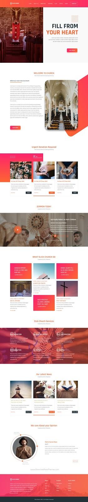 Religious UI Template