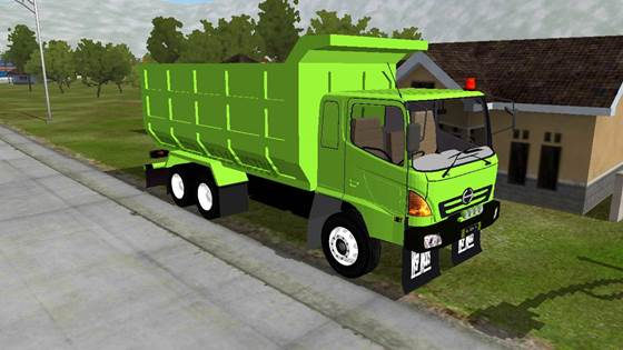 Mod Dump Truck Hino Lohan