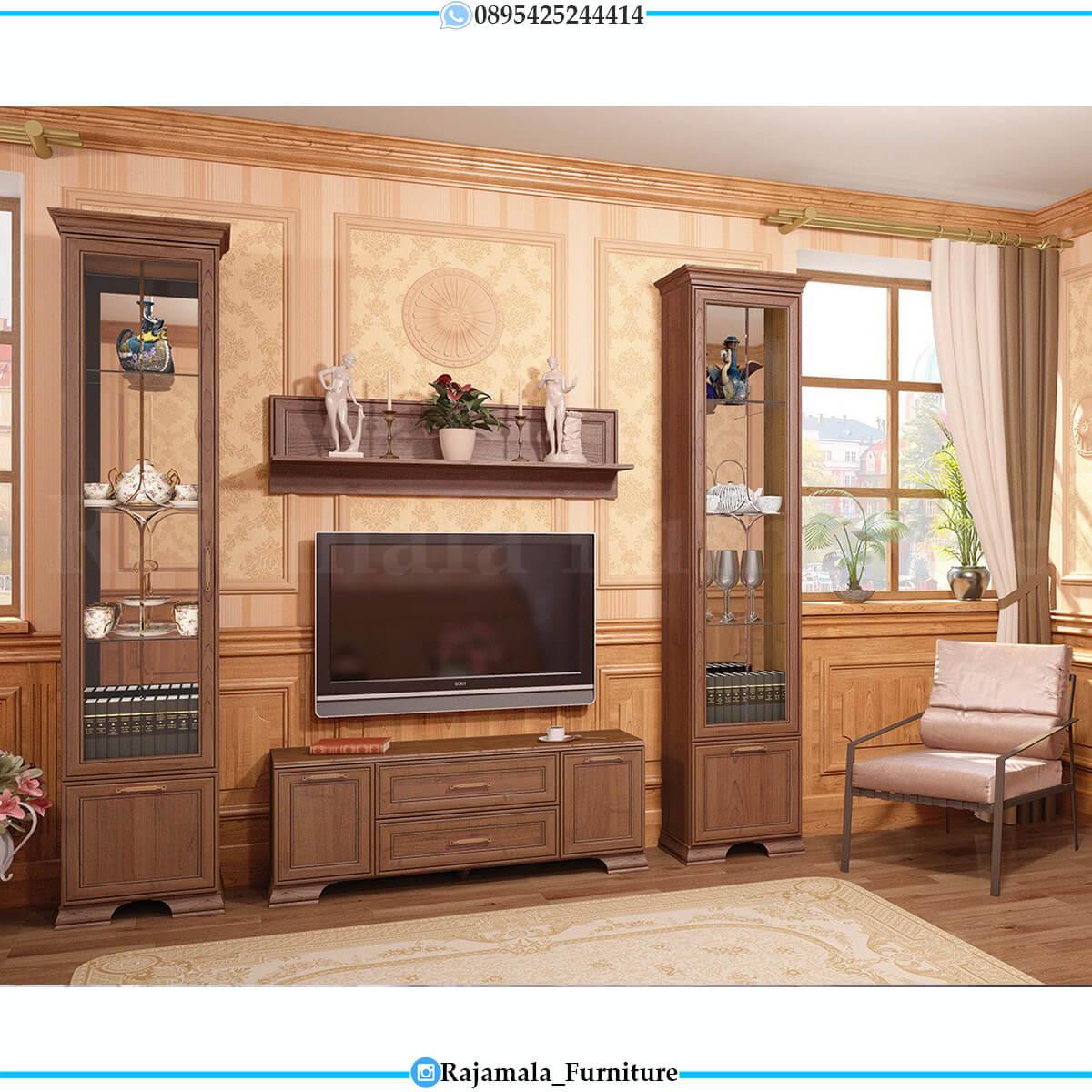 Bufet TV Jati Minimalis Natural Classic Luxury Color RM-0658