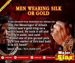 MAJOR SIN. 56.2. MEN WEARING SILK OR GOLD