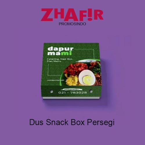 Cetak Dus Snack Box Kotak Persegi
