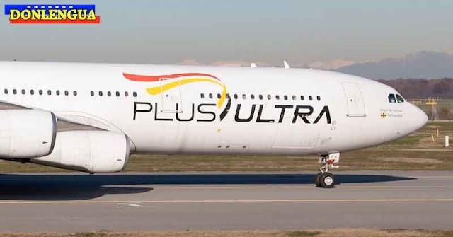 Aerolínea PlusUltra investigada por blanqueo de capitales